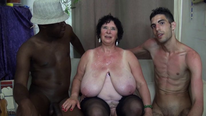 1er casting sexe d'un vieux couple amateur