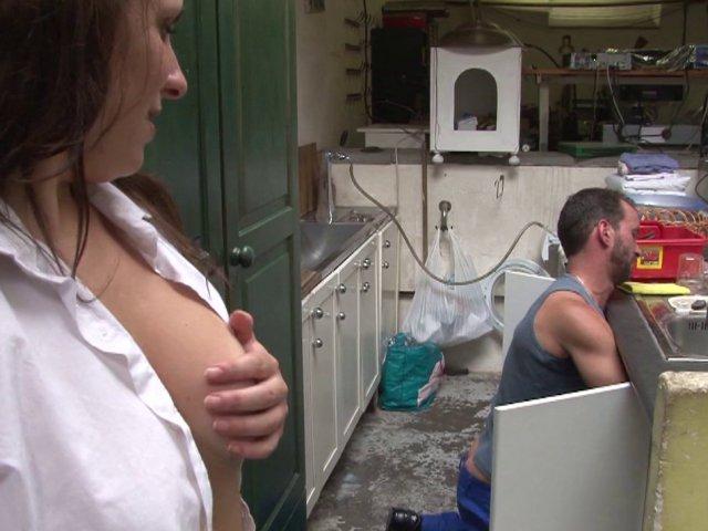 Sexy française enculée à domicile
